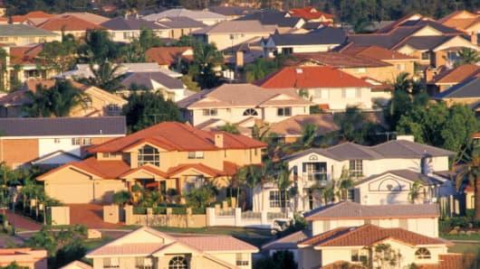Premium Australia suburb